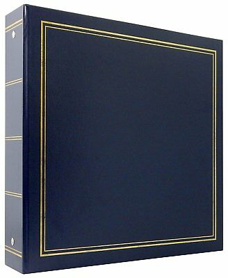 "MCS Library Collection 400 Pocket 4""x6"" Photo Album in Blue"