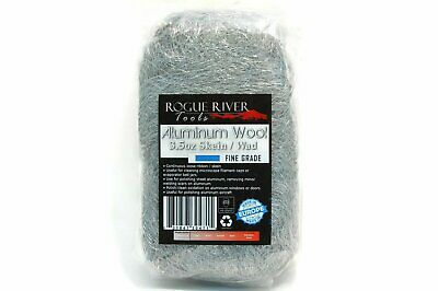 (3.5oz) Aluminum Wool Pads by Rogue River Tools - Fine Grade