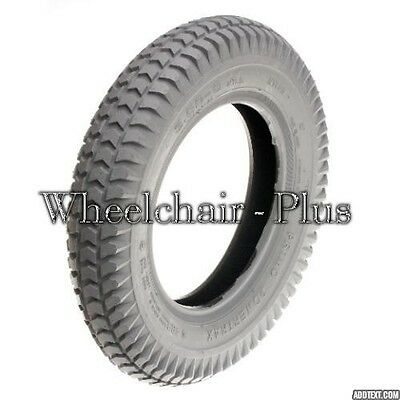 """14""""x3"""" (3.00-8) Foam-Filled Mobility Tire with Powertrax Knobby Tread"""