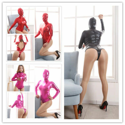 Metallic Lycra Spandex Halloween Party Zentai Sexy Catsuit 5 Colors