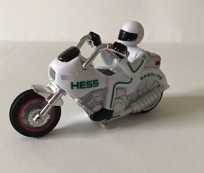 2007 Hess Toy Motorcycles White
