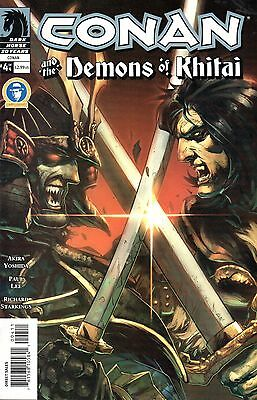 Conan and The Demons of Khitai Comic 4 of4 Dark Horse 2006 Yoshida Lee Starkings