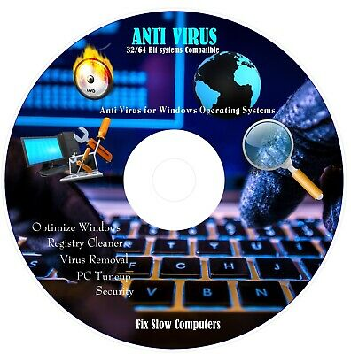ANTI VIRUS SUITE  3 PC's or Laptop 12 Months Activation Malware,Spyware Download