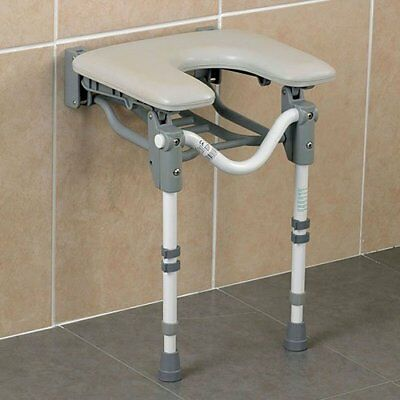 Patterson Medical Tooting Horse Shoe Shower Seat