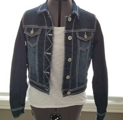 Maurices jean jacket short, Buttom Up, Waste Adgust