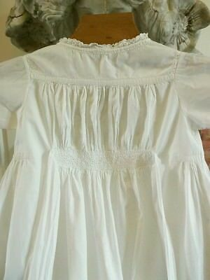 Antique Christening Gown Dated 1894