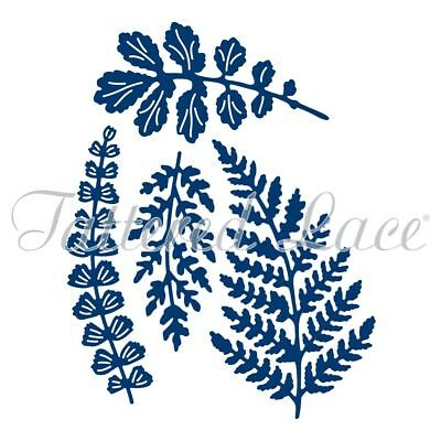Tattered Lace Dies Metal Cutting Die by Stephanie Weightman- Paradise Ferns D667
