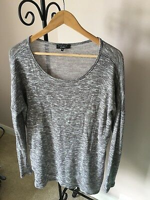 New Look Maternity Marl Grey Jumper Size 12
