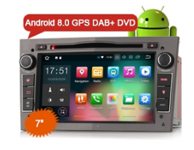 """ES7860PG 7"""" Opel Vauxhall Vextra Astra Corsa Android 8.0 Car Stereo DVD 4G DAB+"""