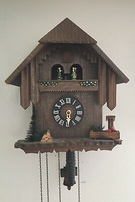 Black Forest Cuckoo Clock PARTS OR REPAIR - See Description