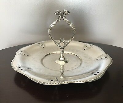 Viking Plate Canada Cookie Sandwich Handled Tray