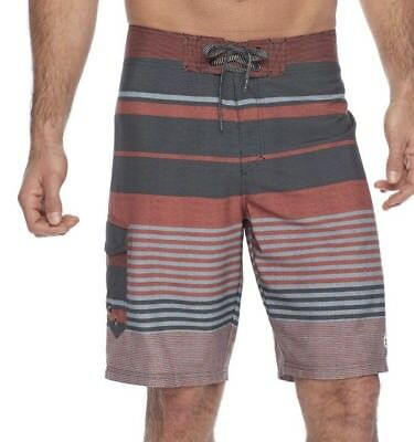 21da06ab4c NEW Ocean Current Men's Stretch Board Shorts Swim Trunks Orange Size 28