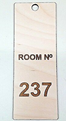 THE SHINING Room 237 The Overlook Hotel Key Fob Homemade wooden hanger sign door