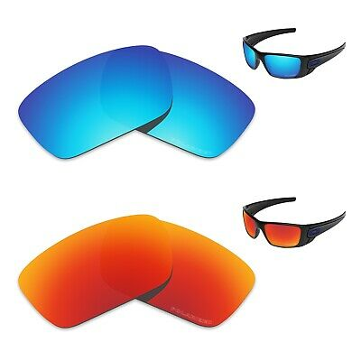 Tintart Polycarbonate Polarized Replacement Lenses for-Oakley Fuel Cell