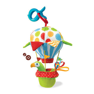 Yookidoo Stroller Baby Activity Rattle Toy Tap N Play Balloon