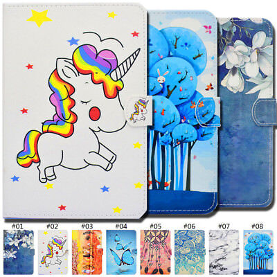 Flip Stand Fashion Smart Wake/Sleep PU Leather Case Cover Skin For Samsung Folio