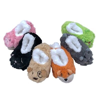 Toddler's Slumbies Classic Fluffy Fur Non-Slip Slipper Socks Family Gift New