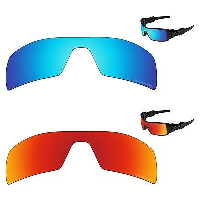 Tintart Polycarbonate Polarized Replacement Lenses for-Oakley Oil Rig