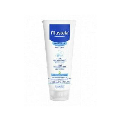 MUSTELA 2 in 1 newborn cleanser body and hair - 200 ml