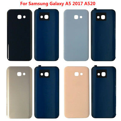 Replacement For Samsung Galaxy A5 2017 A520 Rear Back Glass Battery Cover Panel