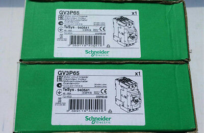 1PCS Schneider Electric Telemecanique GV3P65 48-65A Circuit Breaker new in box