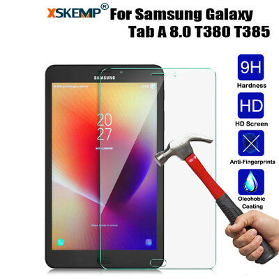 Genuine Premium 9H Tempered Glass Screen Protector For Samsung Galaxy Tab Models