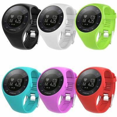 Silicone Fitness Replacement Band Wrist Strap For Polar M200 GPS Smart Watch UK
