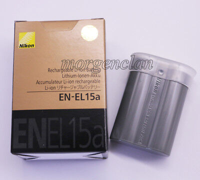 New EN-EL15a Battery For Nikon D7500 D7200 D7100 D7000 D850 D810 D750  V1