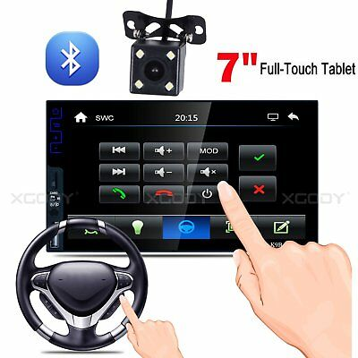 "New 7"" 2Din HD Touch Screen Car MP5 Player Bluetooth Stereo FM Radio USB/TF CAM"