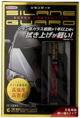 WILLSON Silane Guard Coating Agent Small , Medium Large Car Japan with track