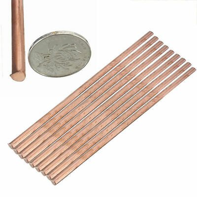99.9% Pure Solid Copper Cu Metal Rod Tube Cylinder Bar Tool 6mm*200mm