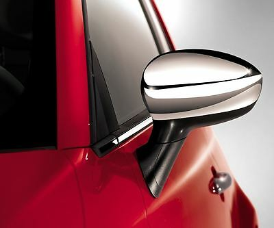 Fiat Official GENUINE 500 SIDE Car Mirror Covers Pair P/N 50901689