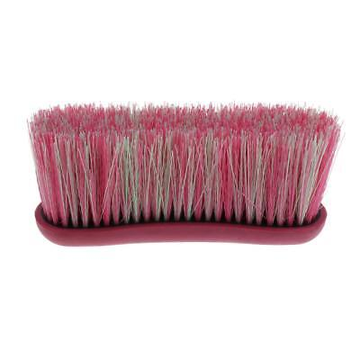 Horse Care Pony Finishing Grooming Brush Soft Touch Grip Comb Tool Pink