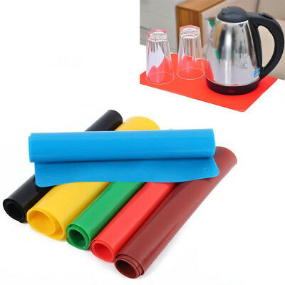 Kitchen Heat Resistant Silicone Table Mat Pad Placemat Non-slip Pan Pot Holder