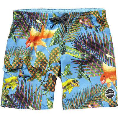 O'Neill Flying High Boys Boardshorts - with Tropical Fish Print