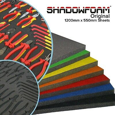 Shadow Foam Sheet | Custom Organiser for your toolbox, tool chest or flight case