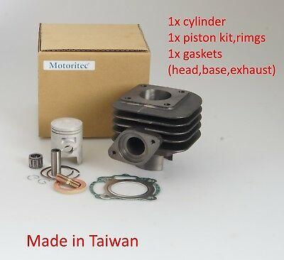 50cc cylinder kit for Kymco Dink 50 Super 8 50 AC 2 stroke Horizontal engine