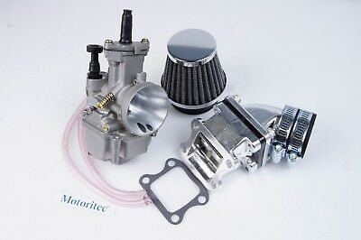 performance carburetor 28mm PWK  intake for SYM Jolie 50 DD50  80cc 90cc DIO 50