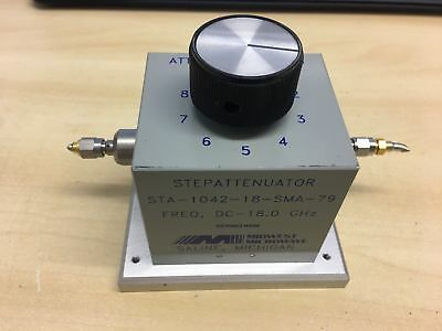 Midwest Microwave Model STA-1042-18-SMA-79 Freq DC - 18.0Ghz