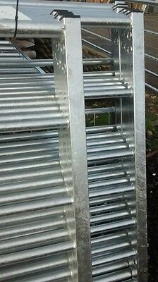 7 Rail Box End Galvanised Security/ Metal Farm/Field Gates IAE BRITISH MADE