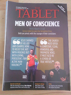 The Tablet 22 March 2014