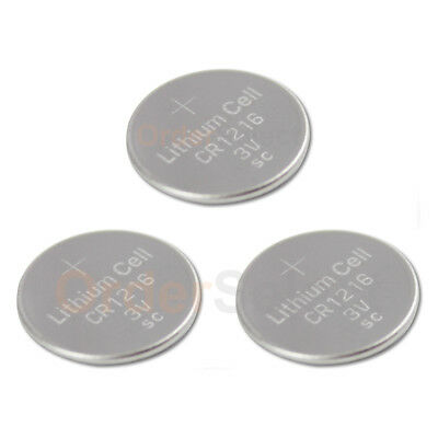3 PACK NEW Battery Coin Cell Button Watch Calculator 3V CR1216 CR 1216 US Seller