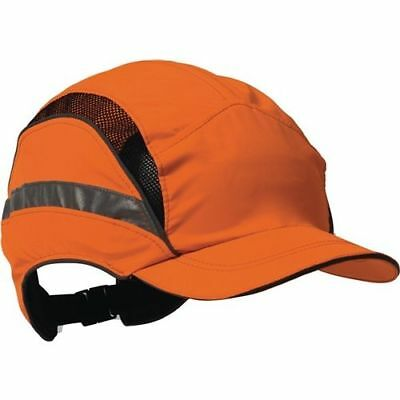 Anstoßkappe First Base 3 Classic Hi-Vis 52-65cm orange Mikrofaser EN812:A1 EN471