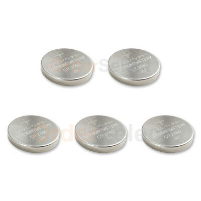 5 PACK NEW Battery Coin Cell Button Watch 3V CR2450 CR 2450 BR2450 US Seller HOT