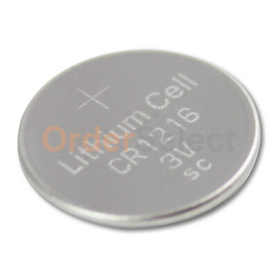 NEW Battery Coin Button Watch Calculator 3V CR1216 CR 1216 Authorized Seller