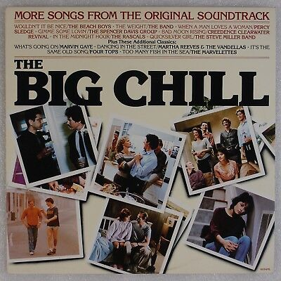 THE BIG CHILL: More Songs From Soundtrack Part II OST Motown AUSTRALIA LP