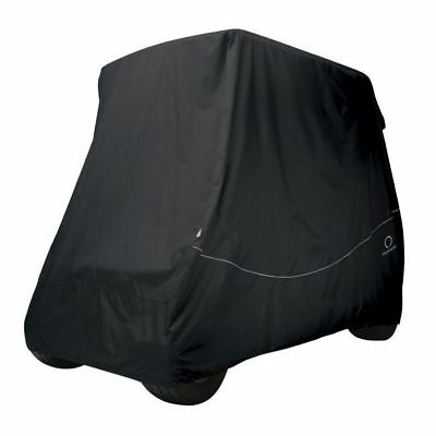 Fairway Golf Buggy Cart Cover Quick-Fit Short Roof Black