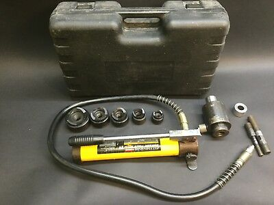 Pittsburgh 14 Piece Hydraulic Punch Driver Kit (Model 96718)