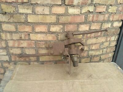 Antique Post Leg Vise Jaws Blacksmith  Forge Tool