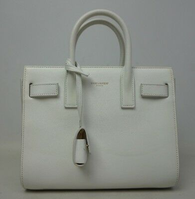 NEW YVES SAINT Laurent Baby Sac De Jour Suede Leather Tote Satchel ... 60c9b77580e7e